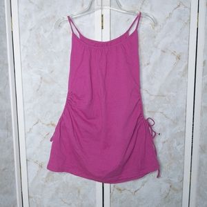 Miley Cyrus PINK Tank Top XL